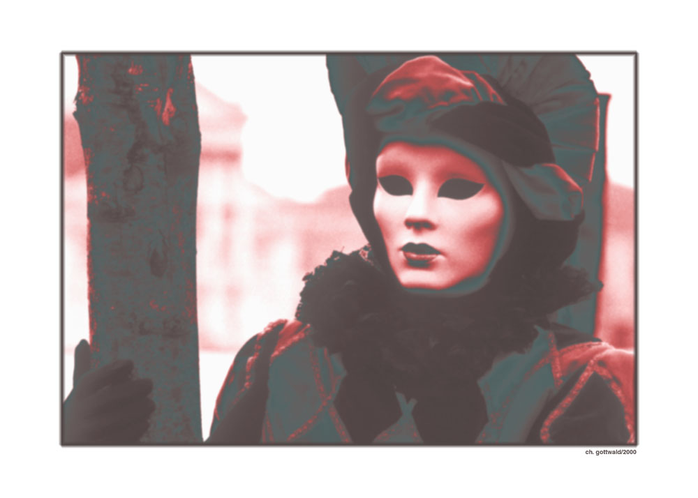 Venedig - Maske2