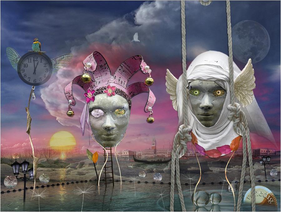 Venedig Maskenball_ Es gibt noch vielleicht Hoffnung