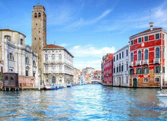 Venedig Palazzi am Canal Grande