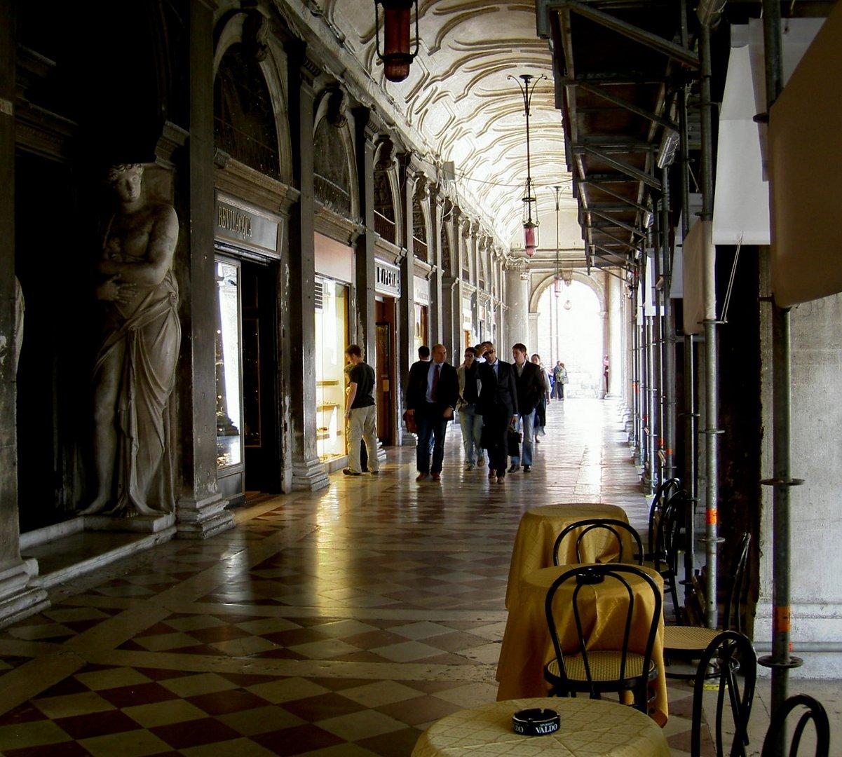 Venedig, Piazza San Marco, Arkaden