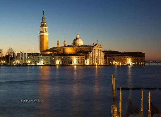 Venedig - S. Giorgio bei Sonnenaufgang