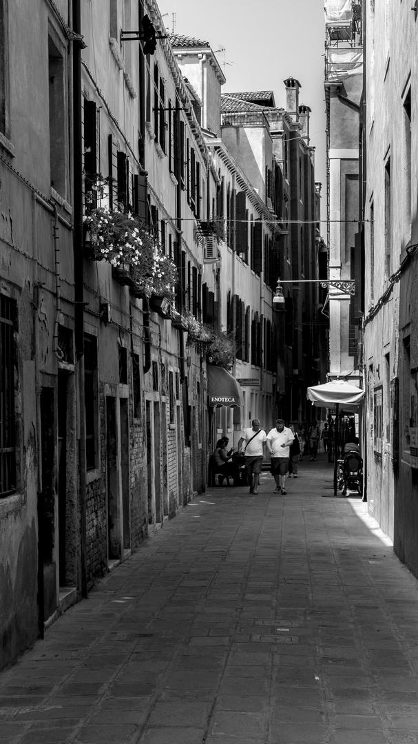 Venedig schwarz-weiß