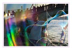 Venedig Seifenblasen Künstler 2