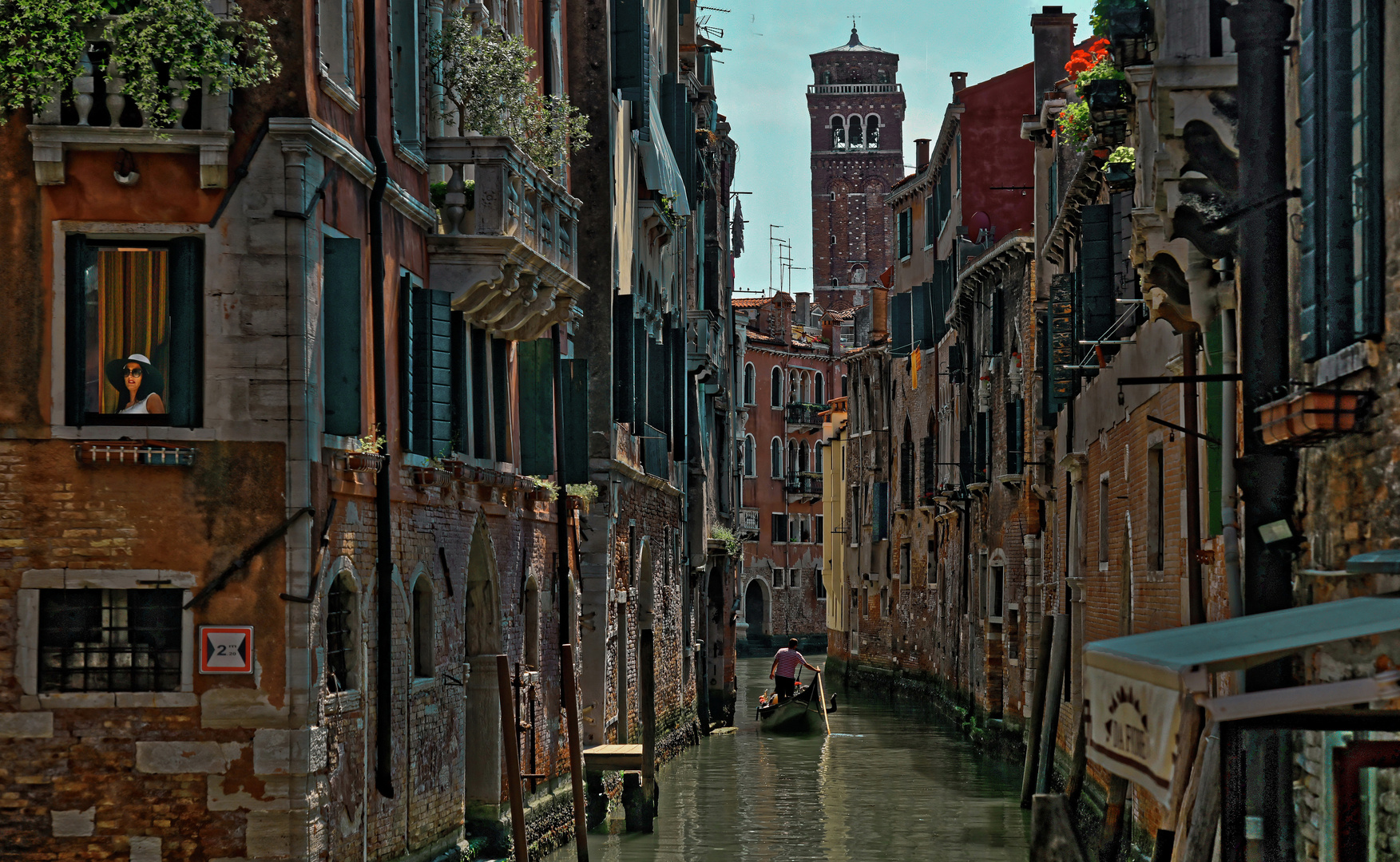 Venedig   - Stadtteil San Polo -