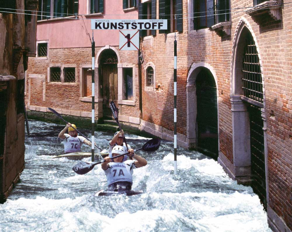 Venedig ver-rückt
