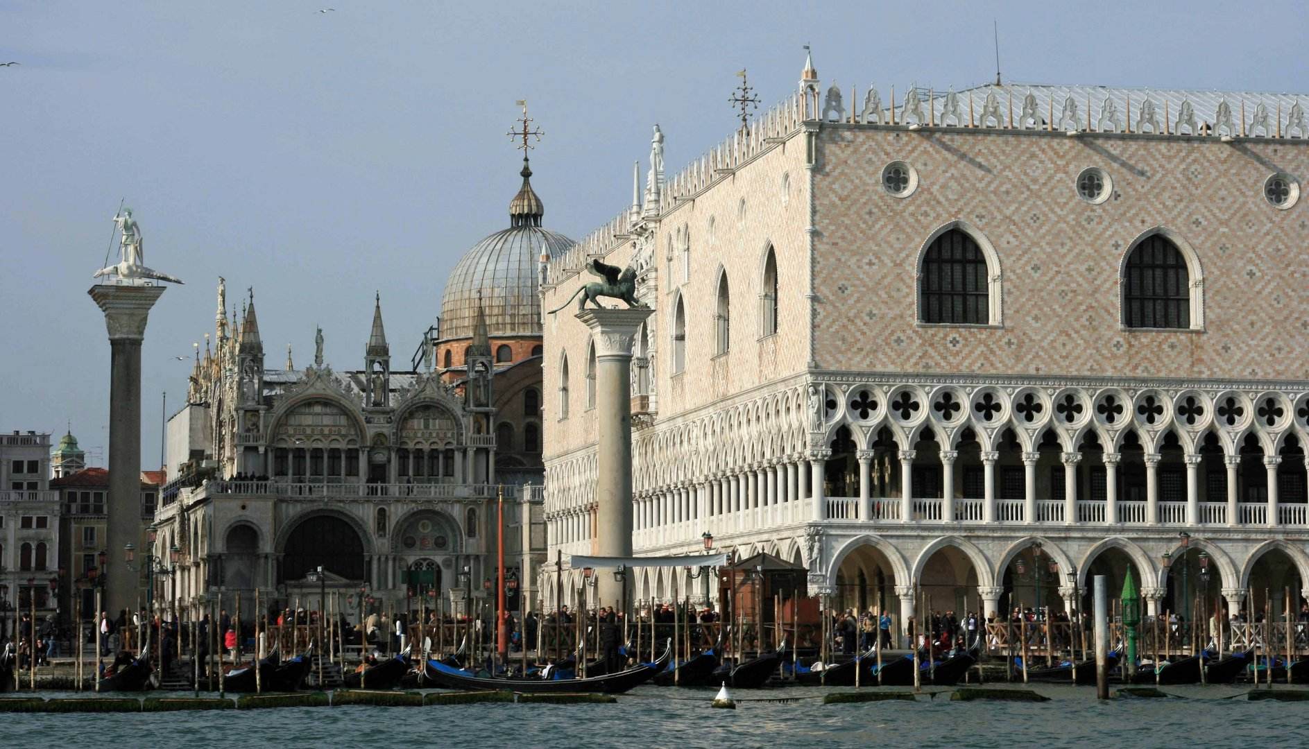 Venedig vom Boot aus