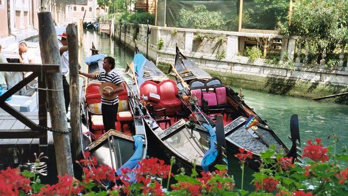 Venedigs hinterste Gassen