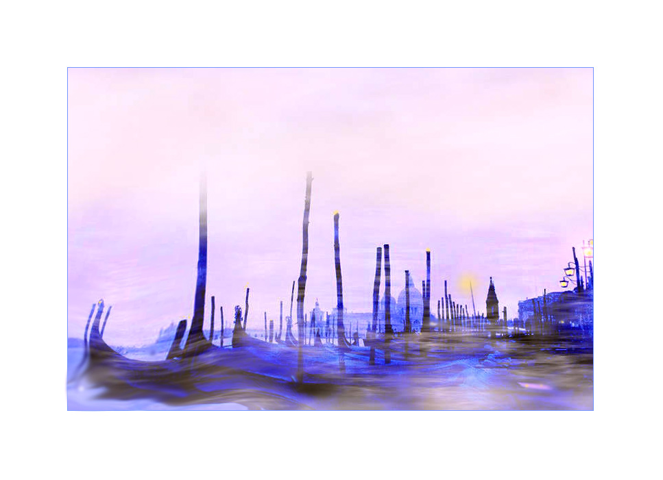 Venedigtraum im Nebel