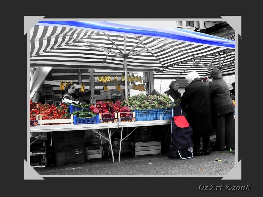 """"""" Venerdì - il mercato della frutta e verdura """""""