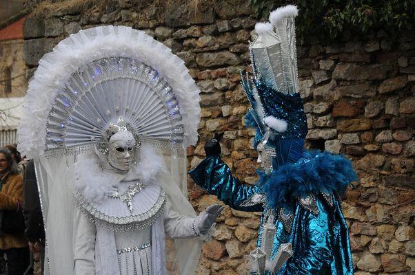 Venetianer Karneval in Rosheim, Elsass 2