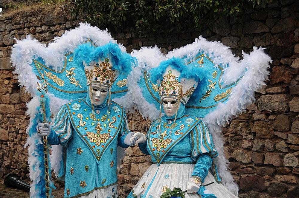 Venetianer Karneval in Rosheim, Elsass 4