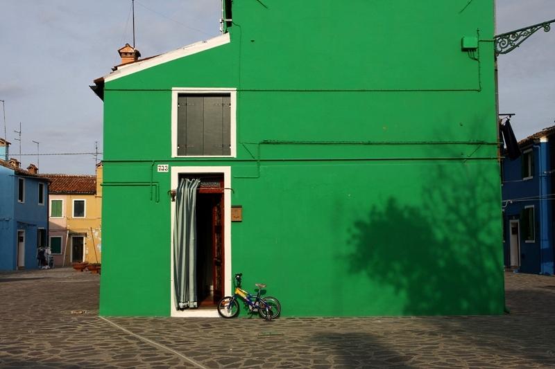 Venezia 12 ...... Burano grasgrün