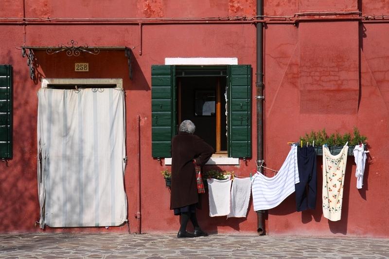 Venezia 9 ...... Burano ziegelrot