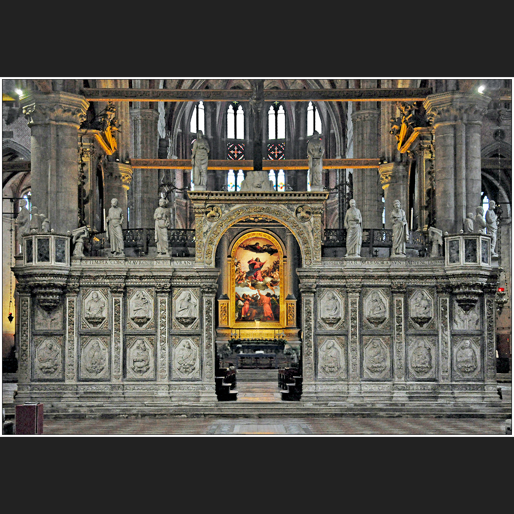 Venezia | Basilica dei Frari, Chorschranke