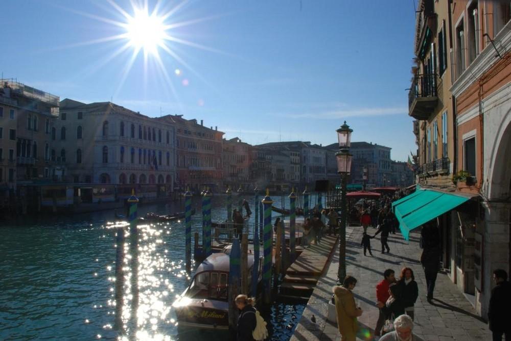Venezia - burning sun