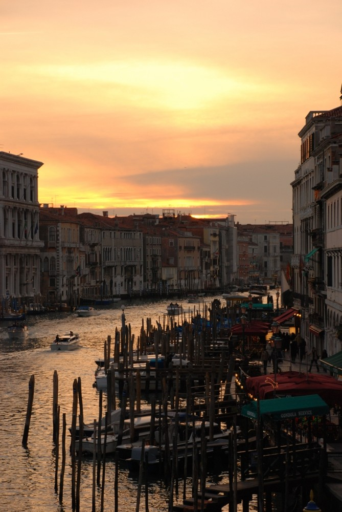 Venezia - burning sunset