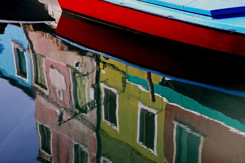 Venezia: canale di Burano