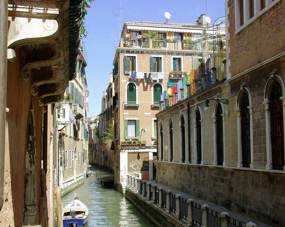 Venezia ed i suoi colori un po' nascosti