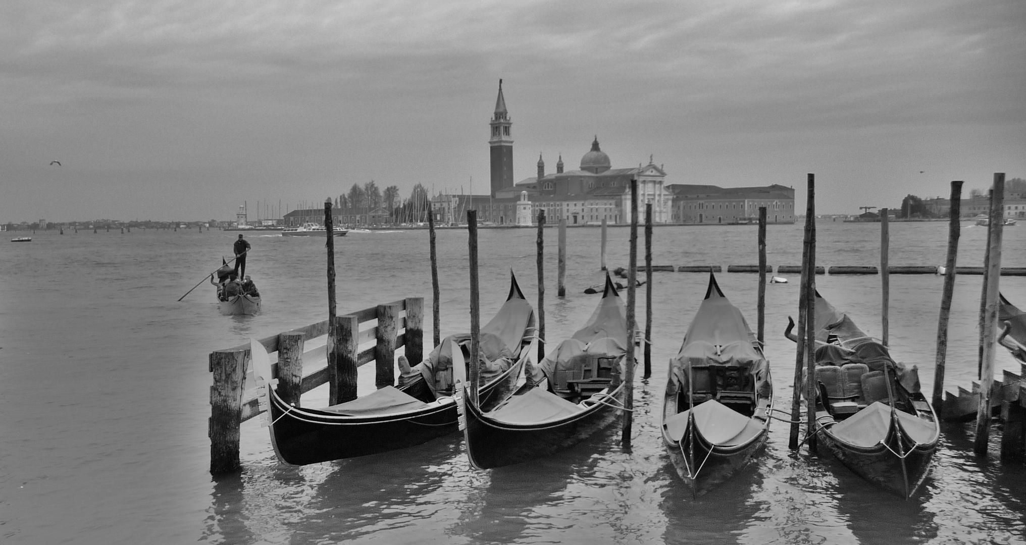Venezia en blanco y negro