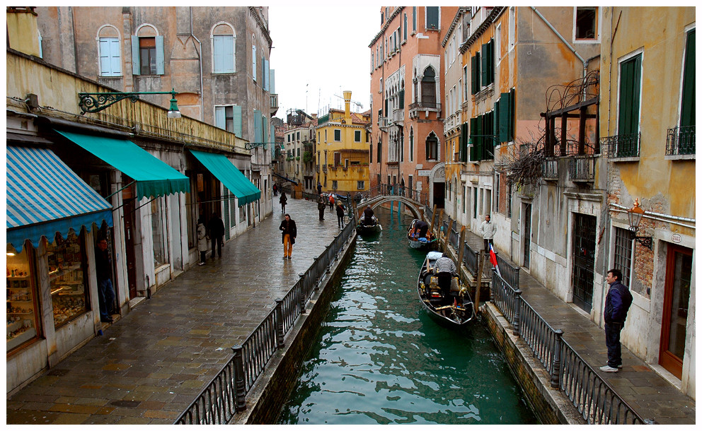 Venezia im Regen