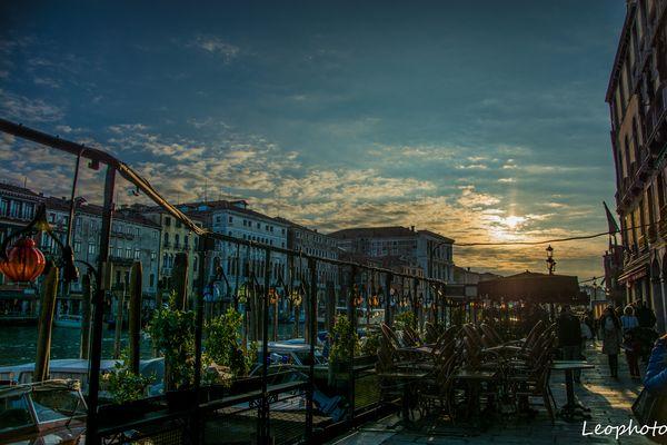 Venezia Vista al tramonto