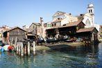 venezianische Gondelwerft