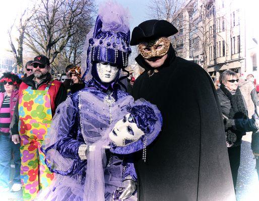 Venezianische Masken.....