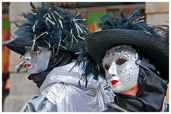 Venezianische Masken