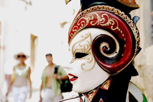 Venezianische Masken in Rovinj