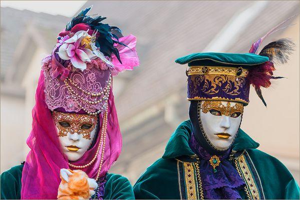 Venezianische Masken in Schorndorf