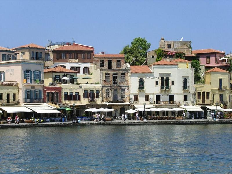 Venezianischer Hafen von Chania, Kreta