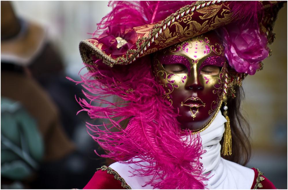 Venezianischer Maskenzauber .