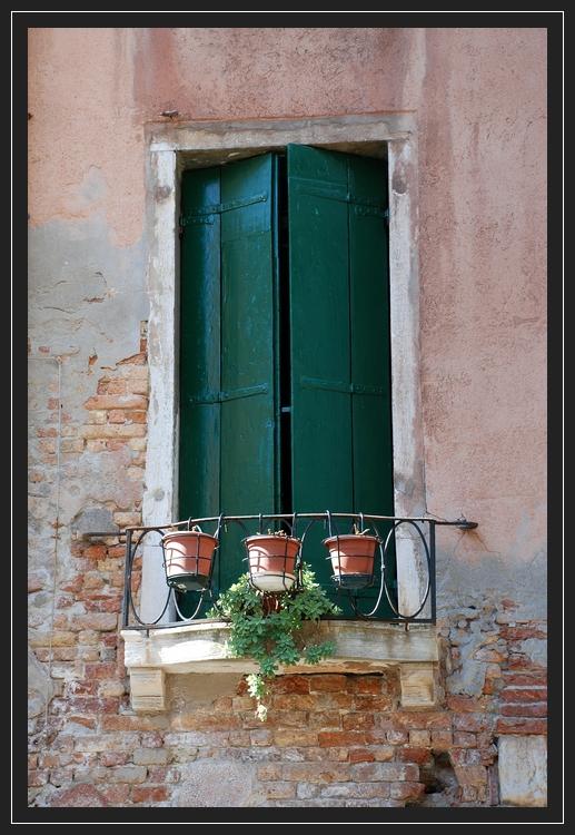 Venezianisches Fenster III