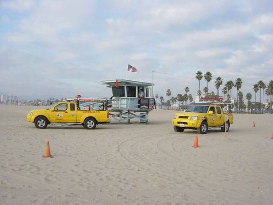 Venice Beach Baywatch