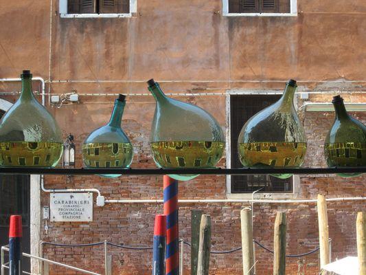 Venice trough glass