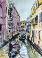Venice - Venedig - Gondolieri