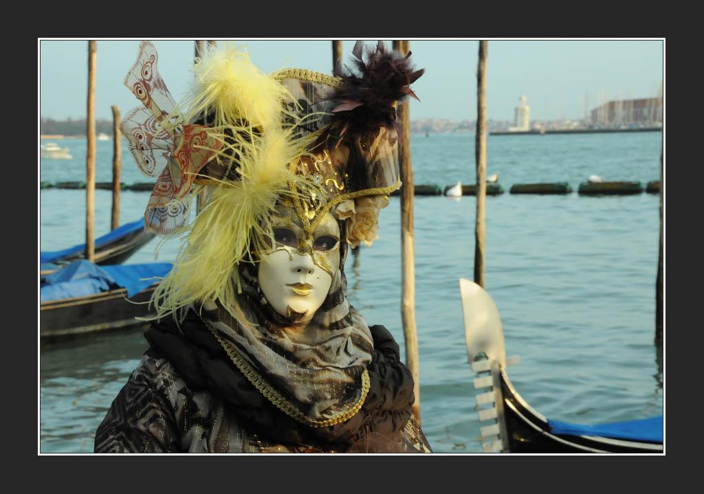 Venise a l'instant du Carnaval