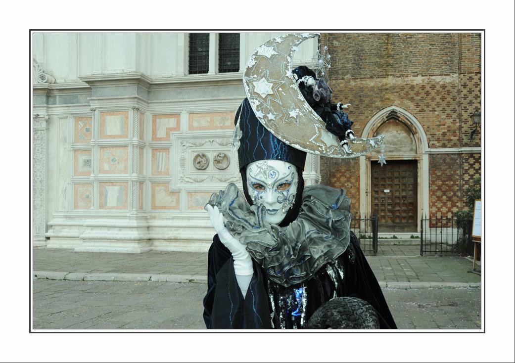 Venise à l'instant du carnaval