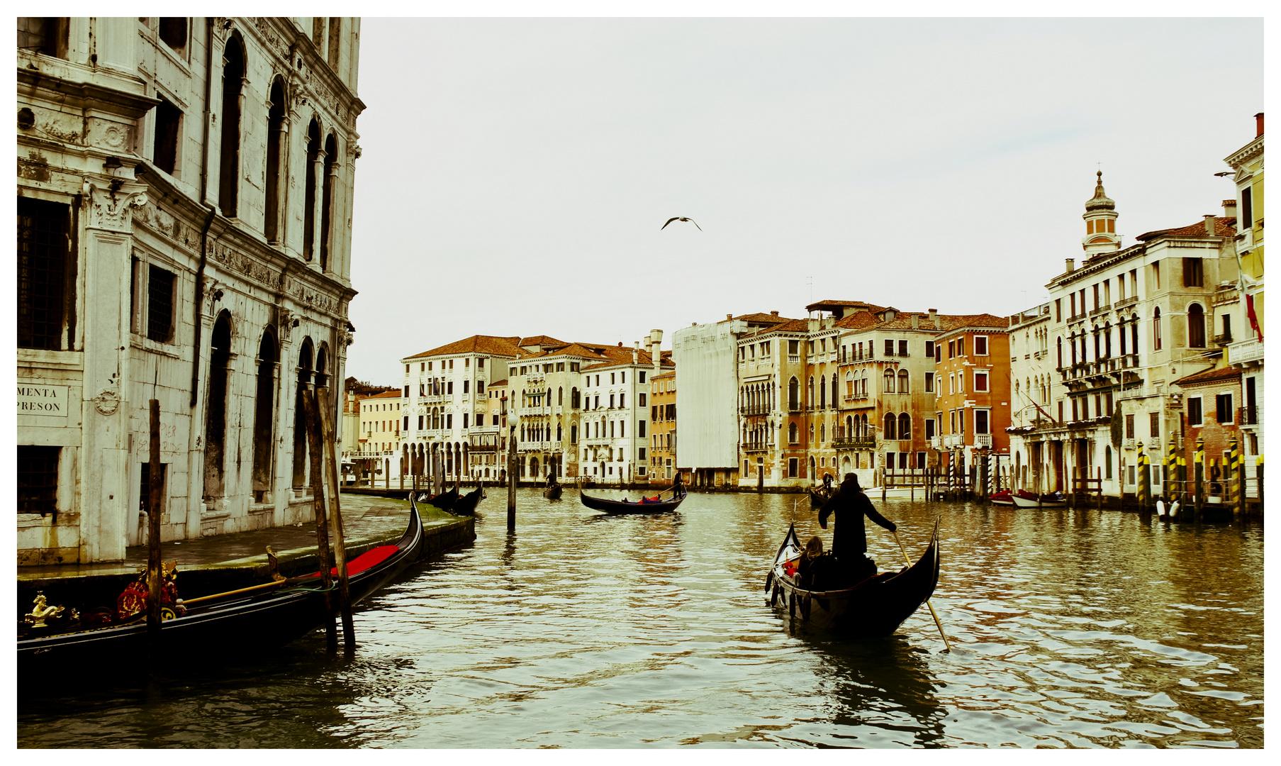 Venise - Balade sur le Grand Canal