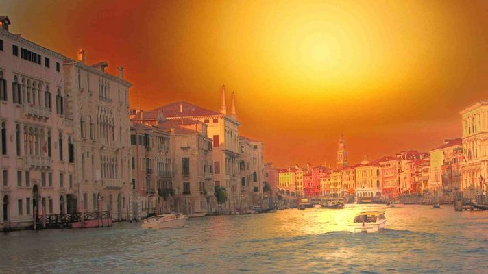 Venise en feu