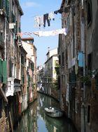 Venise et ... son linge