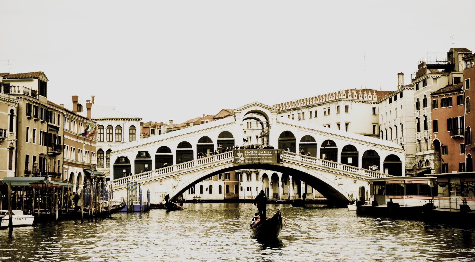 Venise- Le Pont du Rialto