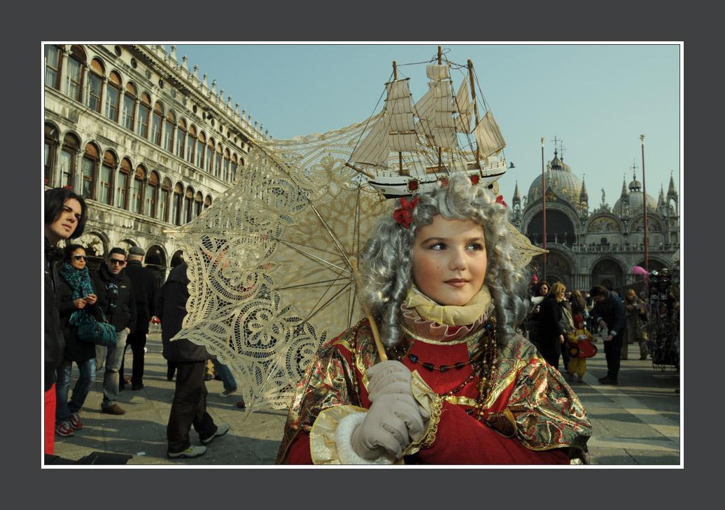 Venise portrait du carnaval