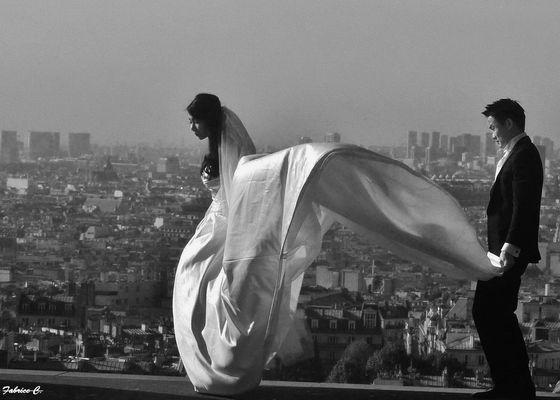 Vent de romantisme à Montmartre