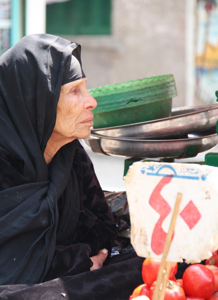 Venta ambulante en El Cairo