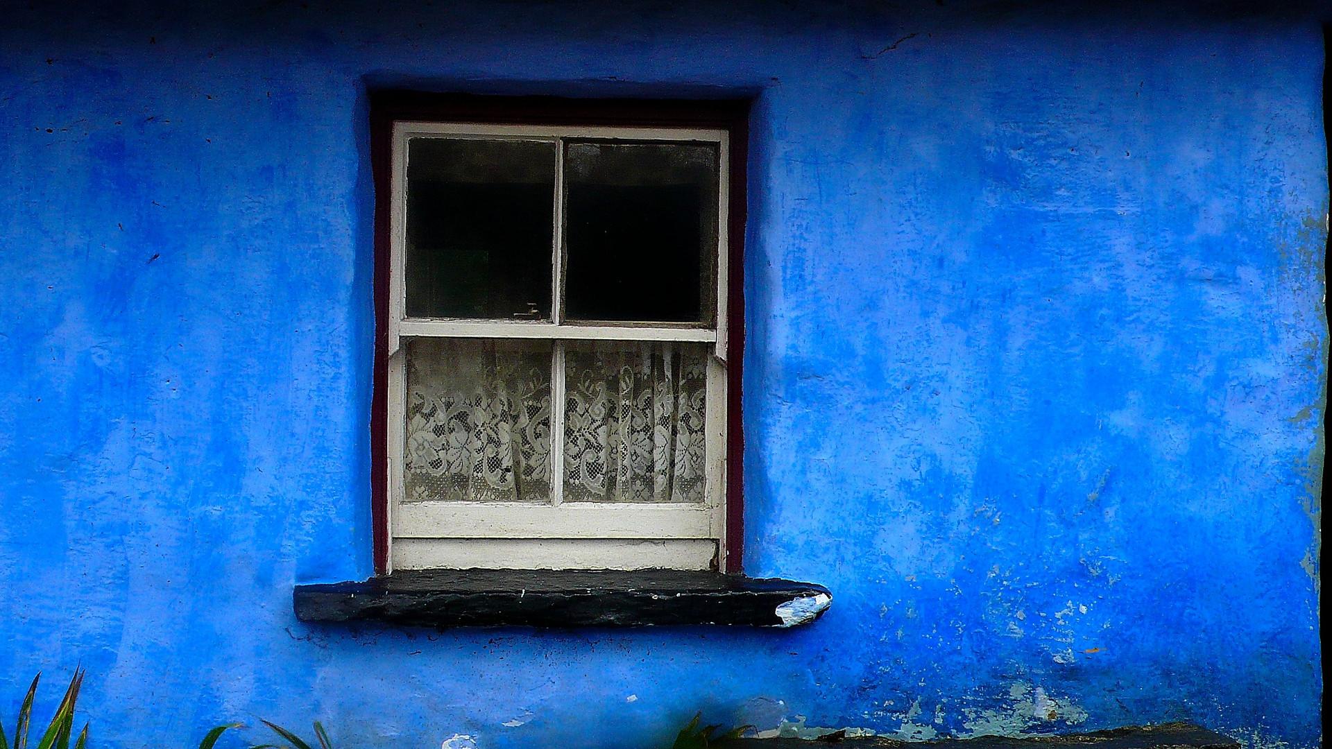 ventana y cortina