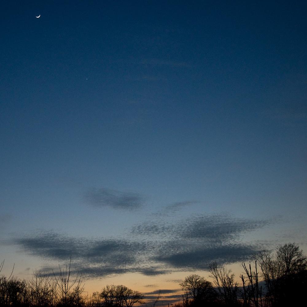 Venus a rendez-vous avec la Lune