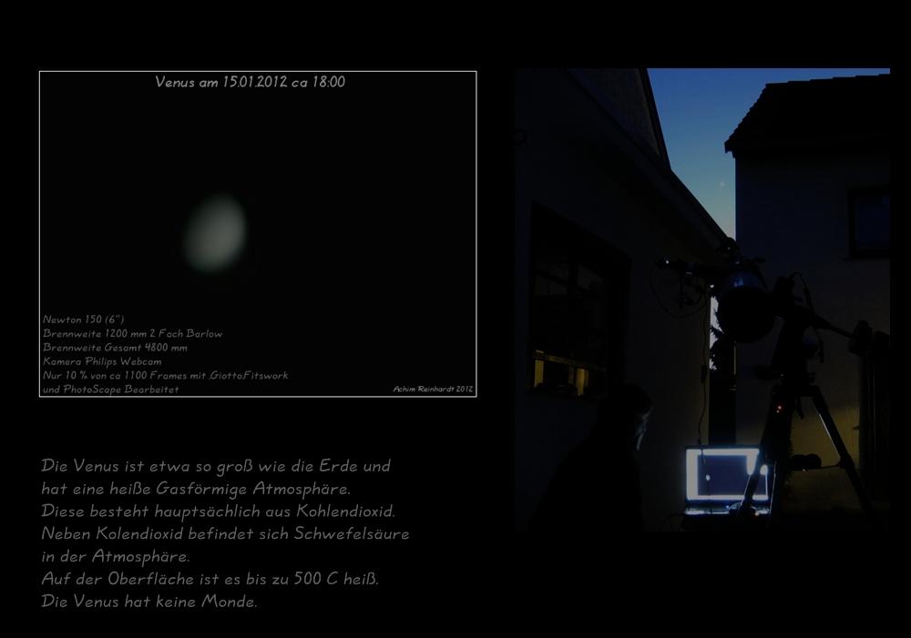 Venus am 15.01.2012