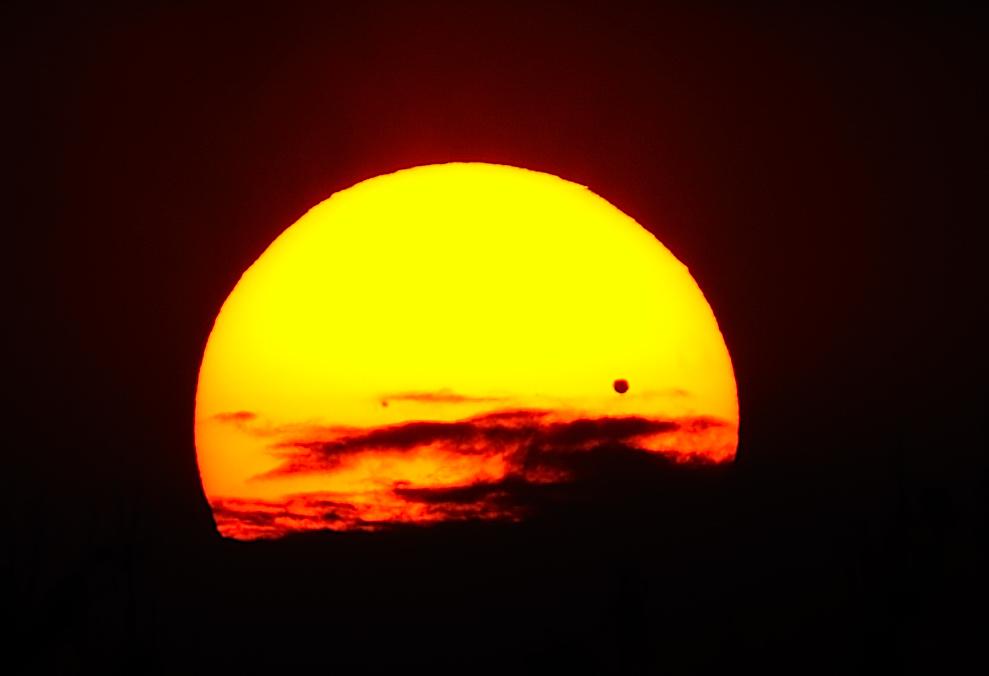 """ Venus und die Sonne 4 "" 2012 MX"