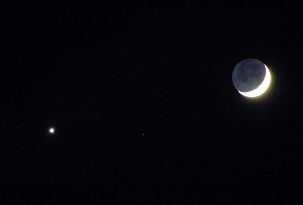 Venus und Luna